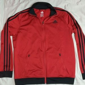 Adidas boys large training jacket 14/16